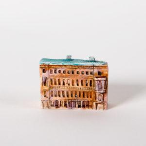 керамическая миниатюра ручной работы Невский проспект, дом 3