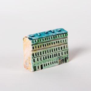 керамическая миниатюра ручной работы Невский проспект, дом 4