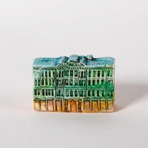 керамическая миниатюра ручной работы Невский проспект, дом 5