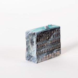 керамическая миниатюра ручной работы Невский проспект, дом 7-9