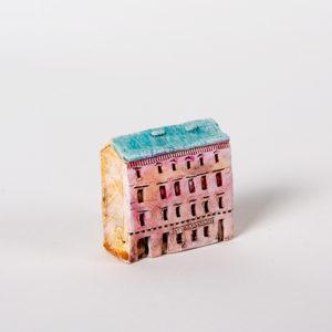 керамическая миниатюра ручной работы Невский проспект, дом 8