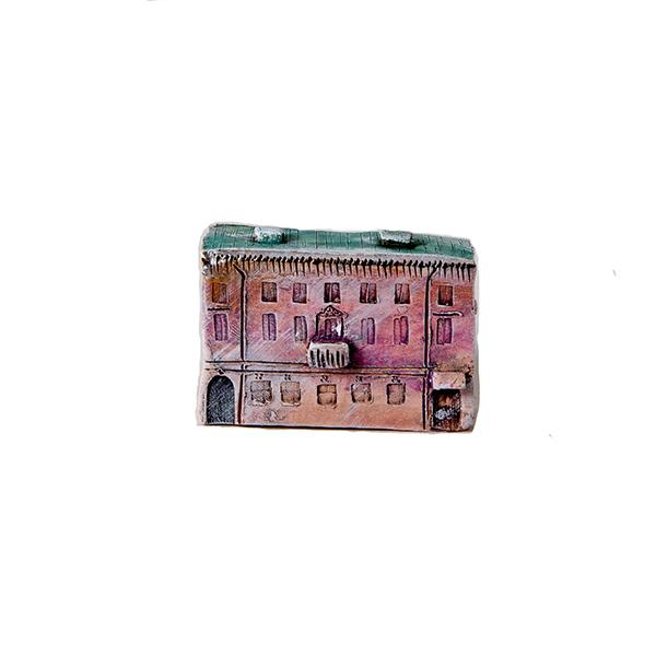 керамическая миниатюра ручной работы Миллионная  улица, дом 15