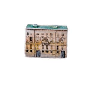 керамическая миниатюра ручной работы Миллионная  улица, дом 16