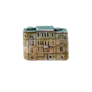 Керамическая миниатюра ручной работы Миллионная улица дом 3