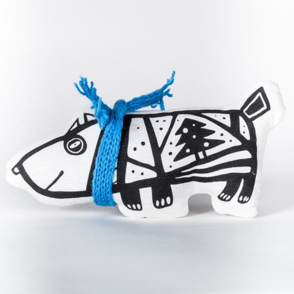 Мягкая игрушка «Собака в свитере» (большая)