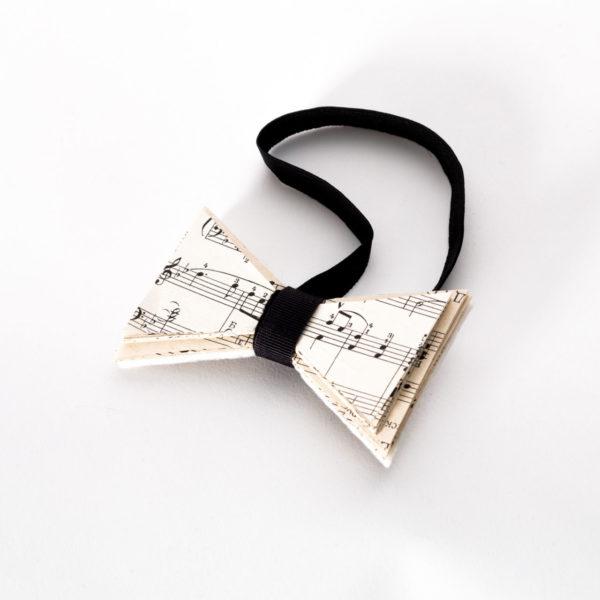 Бабочка-галстук «Музыкальная»