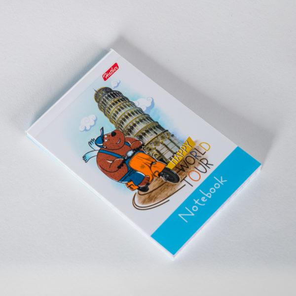 Блокнот «Летающие звери» A7 (клетка, 48 листов)