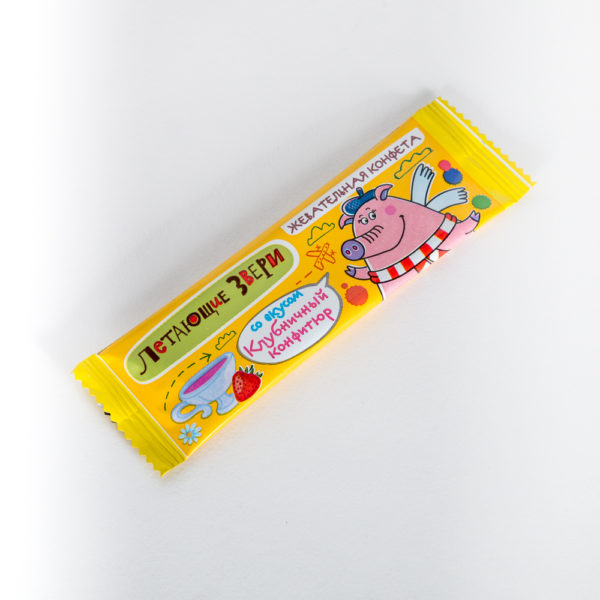 Жевательная конфета «Летающие звери»