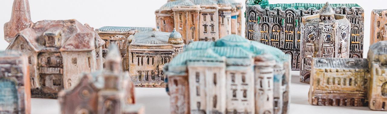 Петербург в миниатюре — Керамическая мастерская Помогать легко