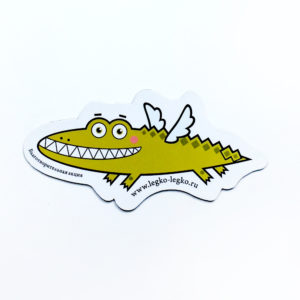 Магнит «Летающий крокодил»