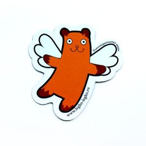 Магнит «Летающий медведь»
