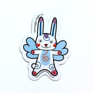 Магнит «Летающий заяц»