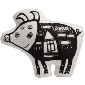 Игрушка «Свинка, витающая в облаках» (белая)