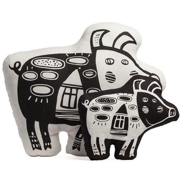 Мягкая игрушка «Свинка, витающая в облаках»