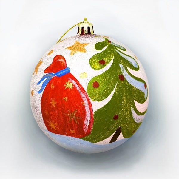 Новогодний шар «С Новым годом»