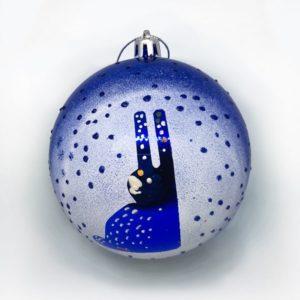 Декорированный новогодний шар