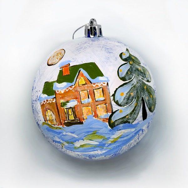 Новогодний шар «Зимняя сказка»