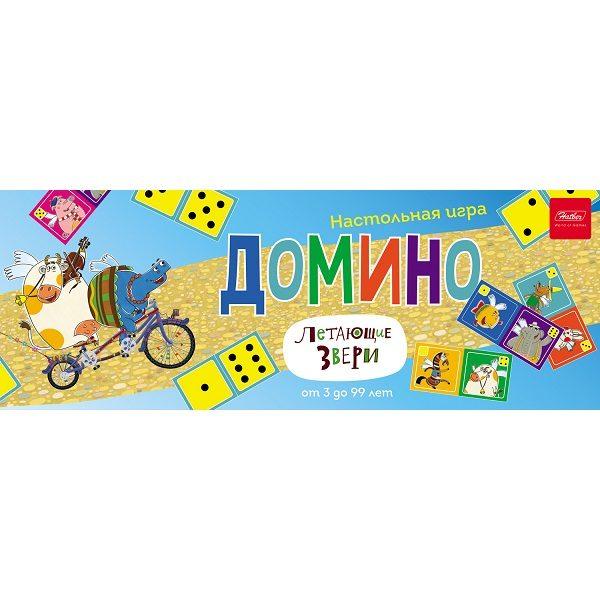 Настольная игра «Домино: летающие звери»