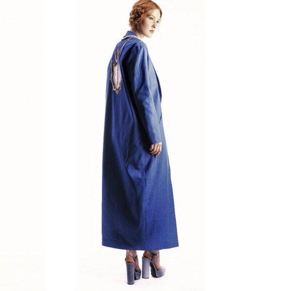 Дизайнерское пальто - кимоно