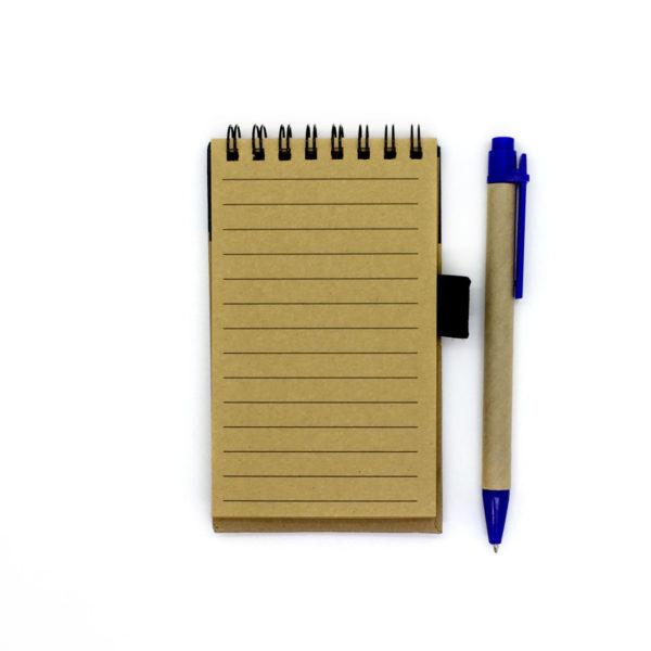 Эко-блокнот с ручкой «Северная ледовитая рыба»