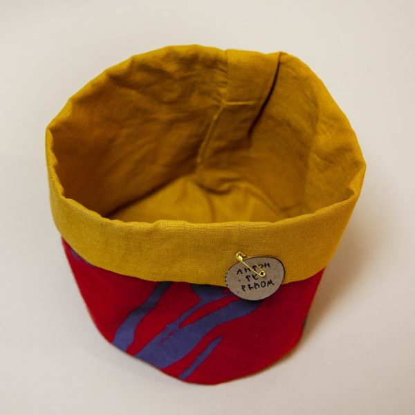 Корзинка для мелочей «Красно-желтая»