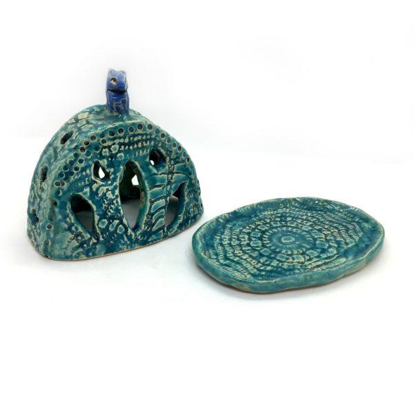 Керамическая масленка