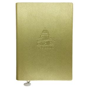 Блокнот «Исаакиевский собор» А6, золотистый